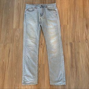 "Bonobos Mens Light Wash Jeans 33""Wx36""L"